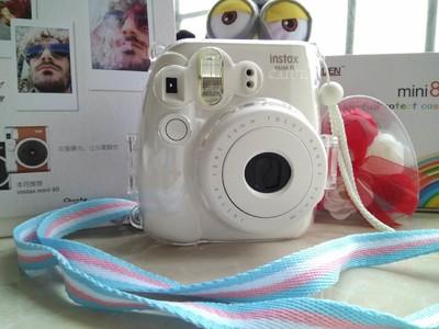 拍立得mini8 白色 富士相机 9成新 送配件