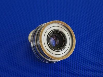德国施耐德Schneider 38 2.8 白银版全画幅定焦手动镜头 A7用