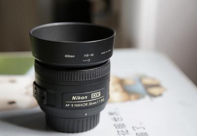 港行 尼康 35mm f/1.8G DX 定焦 95成新 带发票