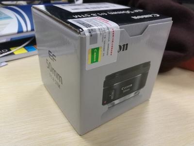 国行佳能 EF 50mm f/1.8 STM 送 NISI UV镜