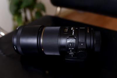 尼康口适马 APO 150mm F2.8 EX DG OS HSM防抖微距镜头