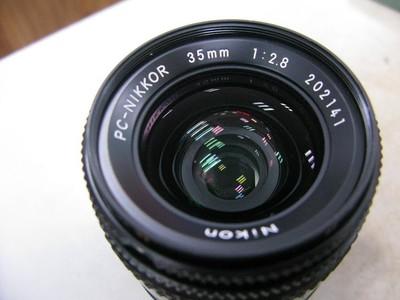 尼康 移轴手动镜头 35mm f2.8 PC 尼康 35/2.8d 移轴 1900元