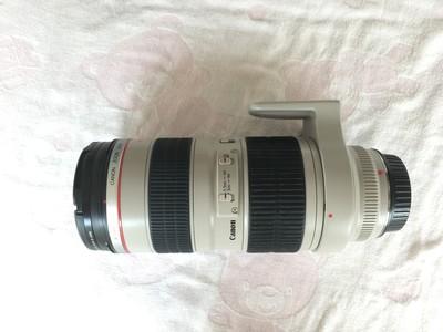 95新 出自用佳能 EF 70-200mm f/2.8L USM(小白)