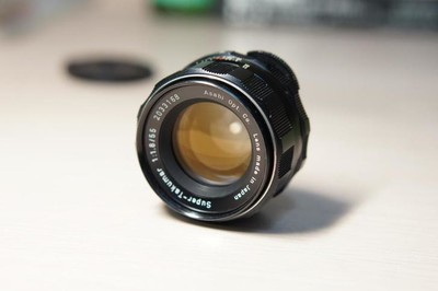 super-takumar 55mm F1.8镜头