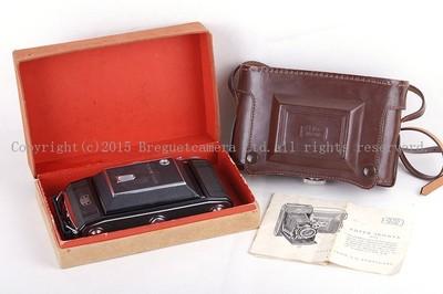 【收藏级美品】Zeiss/蔡司 IKON  Tessar 105/3.5 6x9胶片机 带皮套