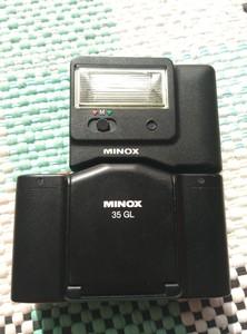 自用近新minox35GL/FC35闪光灯/快门卡/有样张/可修理/包邮