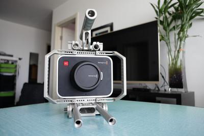 BMCC -EF-2.5k 摄像机,全套套件, 98新,13000元