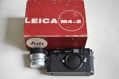 leica 徕卡M4 低价转让 全包装 黑色机身4500