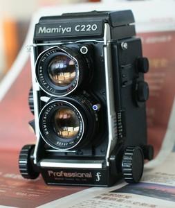 玛米亚 双反 Mamiya C220F 105/3.5 ds 最后期 套机 瑕疵处理