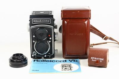禄来 rolleicord VB 德产双反相机 120胶片 施耐德镜头 好品!