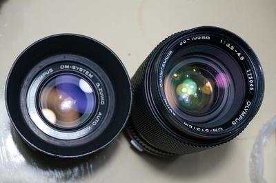om28/3.5和35-105/3.5手动原厂镜头