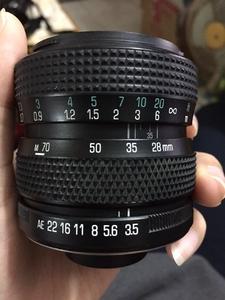 【115元】腾龙百搭口,28-70/f3.5-4.5,手动镜头
