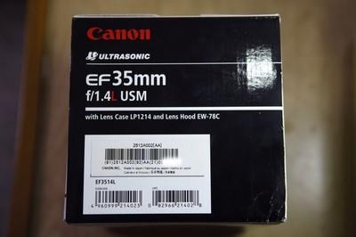佳能 EF 35mm f/1.4L USM