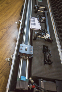 出就用过两次的万德兰无线电控滑轨1.5米(延时摄影利器)