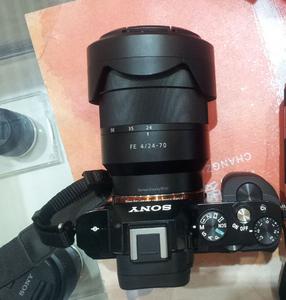 索尼A7S+FE 24-70 F4  套出