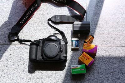 佳能 EOS 1V 自动对焦胶卷单反相机 极品成色