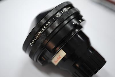 尼康AIS7.5mm/5.6超级鱼眼超低价格4500
