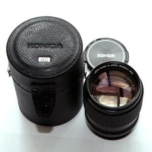 柯尼卡Konica 85mm f1.8 传奇镜头 收藏品