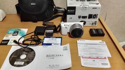 索尼SONY NEX-5R微单相机 16-50mm 送电池相机包