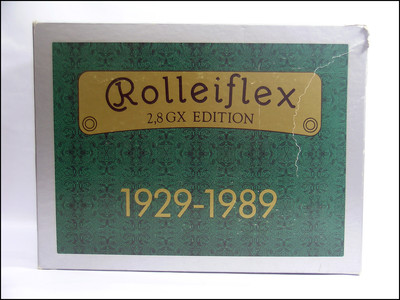 禄来 Rolleiflex 2.8GX 1929-1989 60周年纪念版 带包装