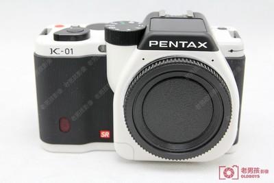 Pentax/宾得K-01 白色单机身 宾得k01微单单电相机