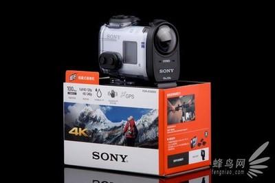 全新未拆封索尼运动摄像机x1000v 包防水壳 有国外发票