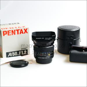 【收藏级】全套宾得 SMC PENTAX A 50mm f/1.2 A50 1.2名镜-夜之眼