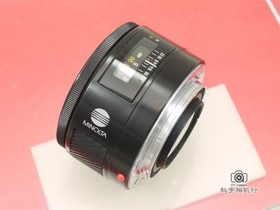 美能达大光圈定焦 Minolta AF 50mm F/1.4【良品】54101883