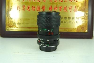 95新 MD口 海鸥 28-80 F3.5-4.8 手动镜头 变焦挂机头 可置换
