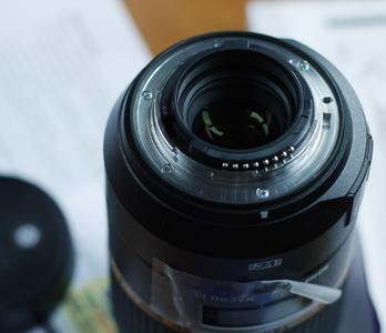 尼康口 腾龙90mm F2.8 VC防抖微距镜头 腾空90微