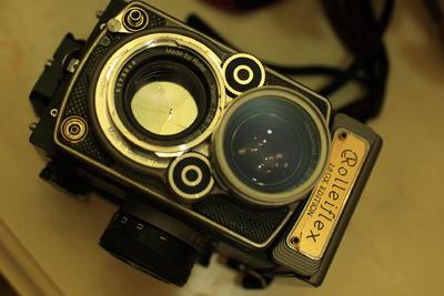 已出 禄莱双反 Rolleiflex 2.8GX 60周年纪念版,超低价出让