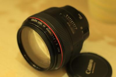 出 佳能EF 85mm f/1.2L II 二代,成色极新,价格低