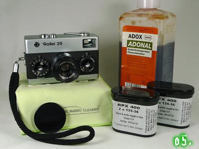 禄莱35经典相机、原装盖和手绳、 镜头内外通透明亮、整机内外新净
