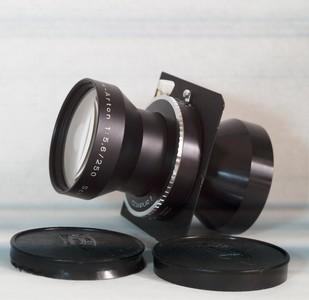 施耐德林哈夫用 Tele Arton 250/5.6 大画相机长焦镜头