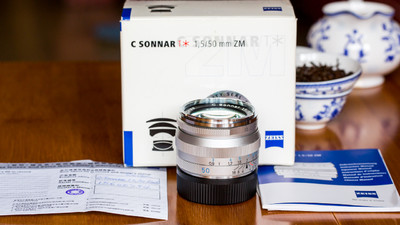 卡尔·蔡司 C Sonnar T* 50mm f/1.5 ZM