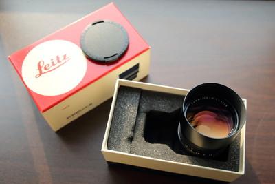 徕卡 Leica Summilux-M 75 mm f/ 1.4 1983年加产带盒近全新