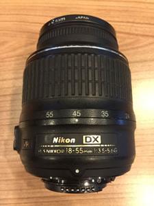 低价转让 尼康18-55mm 1:3.5-5.6G 镜头