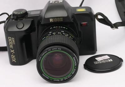 理光xr3000经典胶片机+28-70/3.5-5.6 ex macro镜头