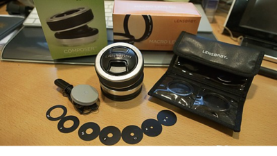 Canon 佳能 lensbaby composer移軸鏡頭 送lensbaby 微距鏡頭2個