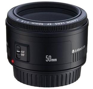 小痰盂甩了!带包装佳能 EF 50mm f/1.8 II