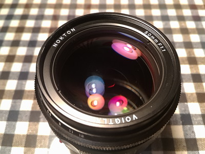 福伦达 Nokton 50mm f/1.1 95新