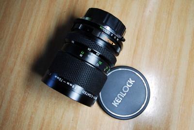 日本Kenlock OM 28-70镜头,f3.5/3.8,微距