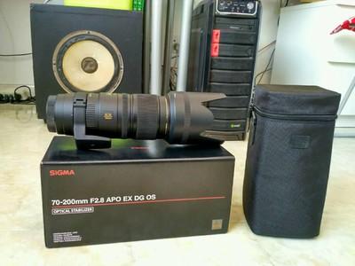 适马 APO 70-200mm 五代 F2.8 EX DG OS HSM