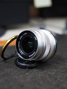 奥林巴斯12mm f20 银色头