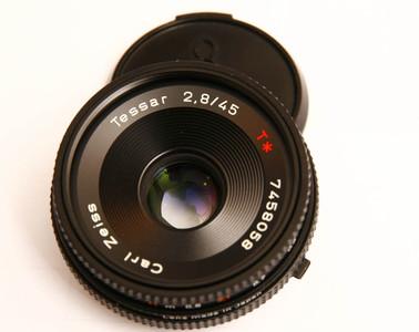 康泰时 Contax蔡司 Zeiss Tessar T* 45mm/F2.8