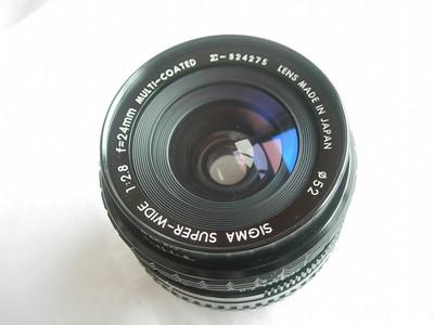 很新适马24mmf2.8金属镜头,CY卡口,可配蔡司和其他各种数码相机