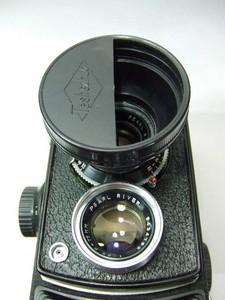 低价出一批--34MM双反相机用圆形遮光罩,含黄滤镜+特技附件