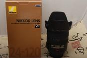 98新NIKON 24-120MM F3.5-5.6G 带包装(欢迎议价,支持交换)