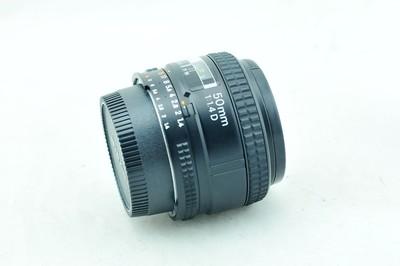 新城日行二手镜头Nikon尼康 AF 50mm f/1.4D和AF 50 1.4 标准定焦