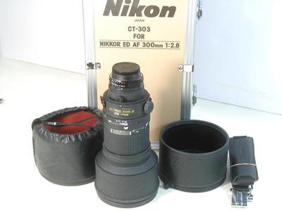 ◆ 尼康 Nikon AF 300/2.8 ED  手持长炮 极上品 带包装 ◆